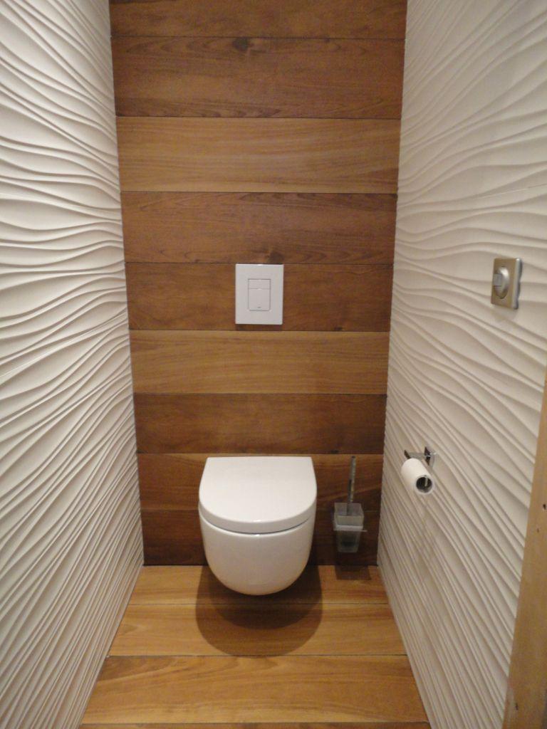 Grange aménagée en loft   Toilette design, Aménagement wc et Déco toilettes