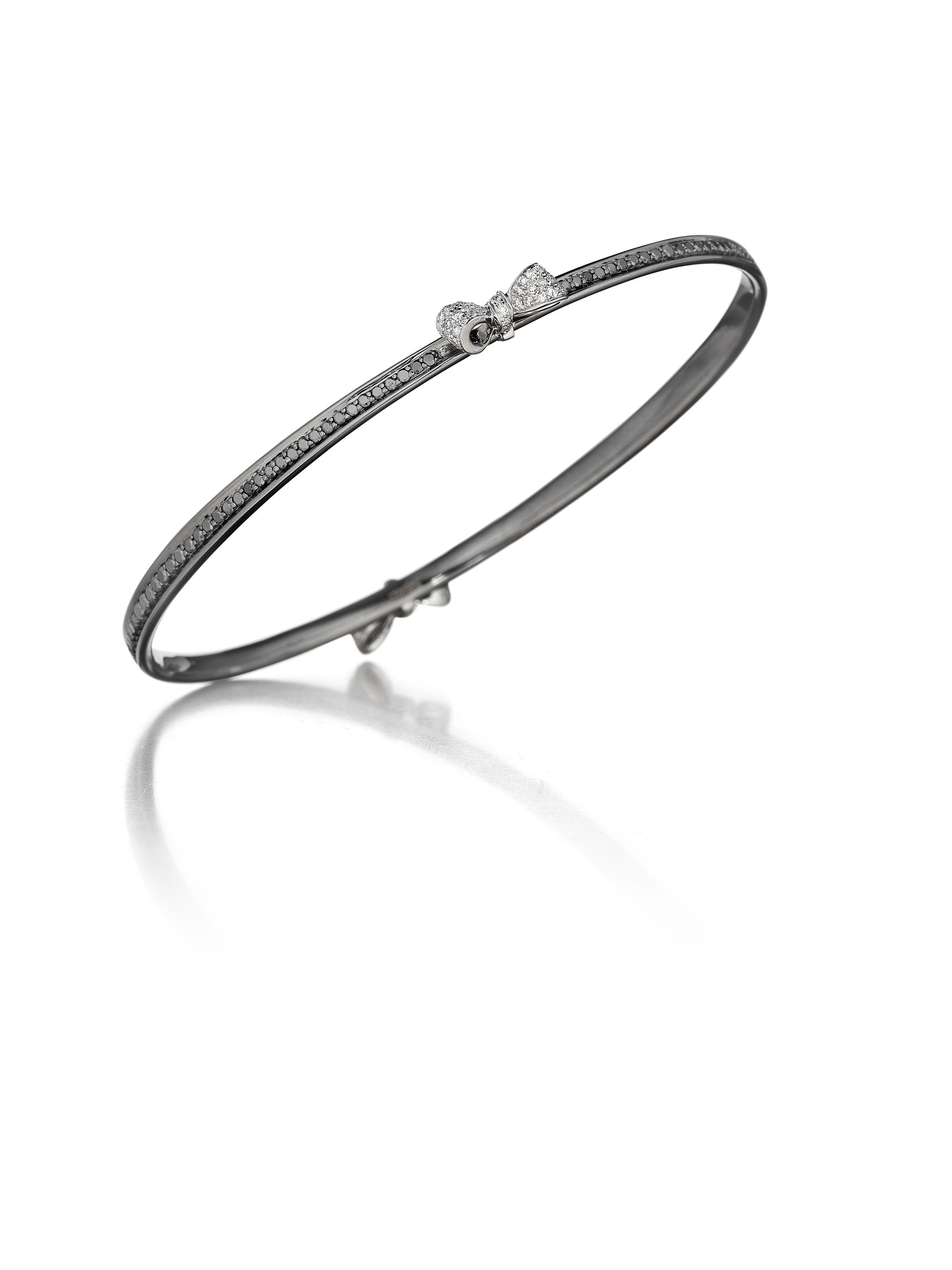 pave gold r bangle nuha bangles diamond rockstud products jewelers bracelet