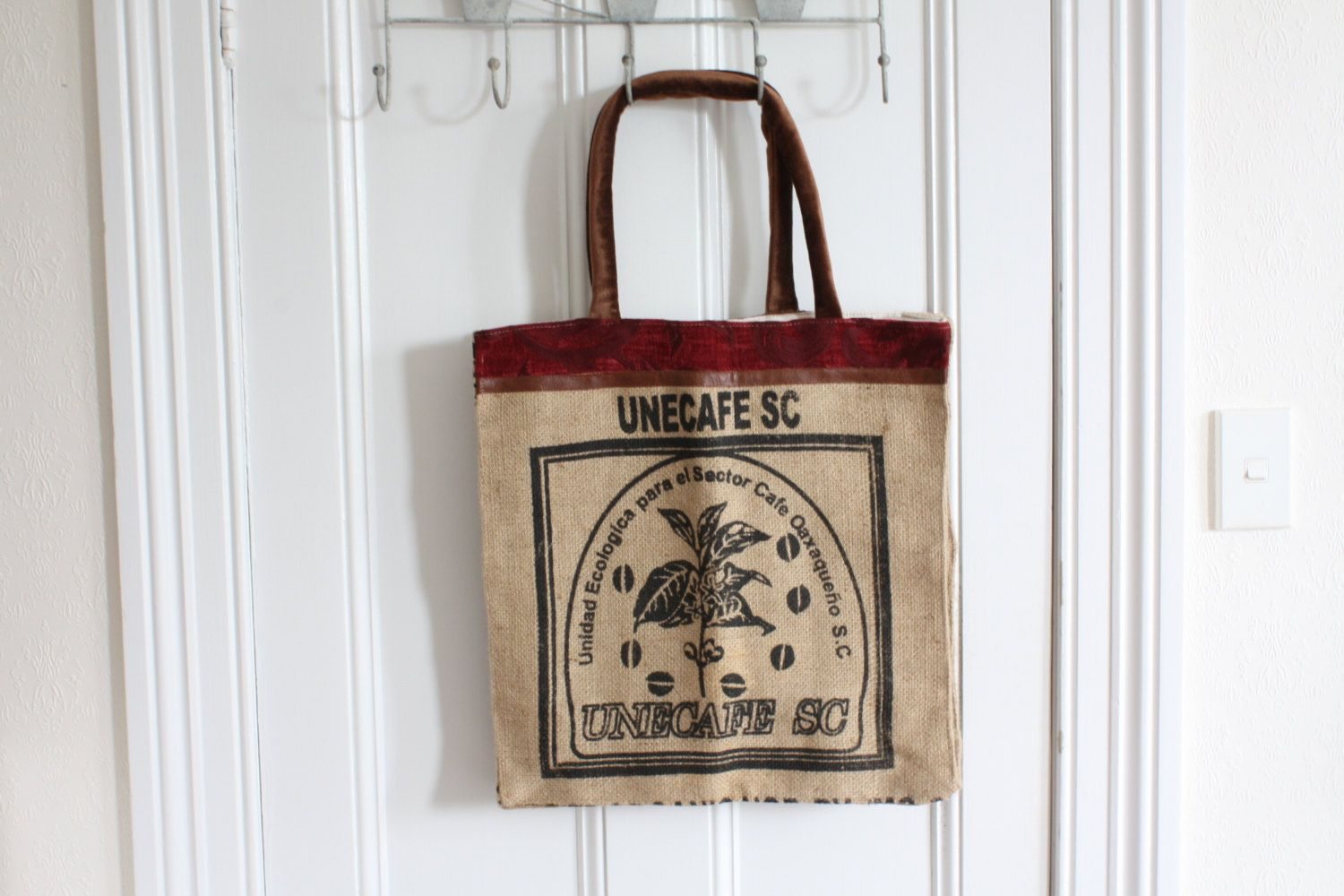 One of a kind Hand made Shopping Tote - don't miss this opportunity! https://www.etsy.com/listing/263209119/shopping-tote-hand-made?utm_source=socialpilotco&utm_medium=api&utm_campaign=api #bagsandpurses