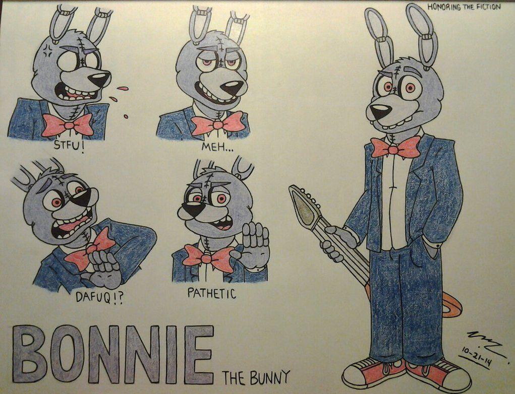 F fnaf bonnie costume for sale - Bonnie Doodles Fnaf By Sega Htf On Deviantart
