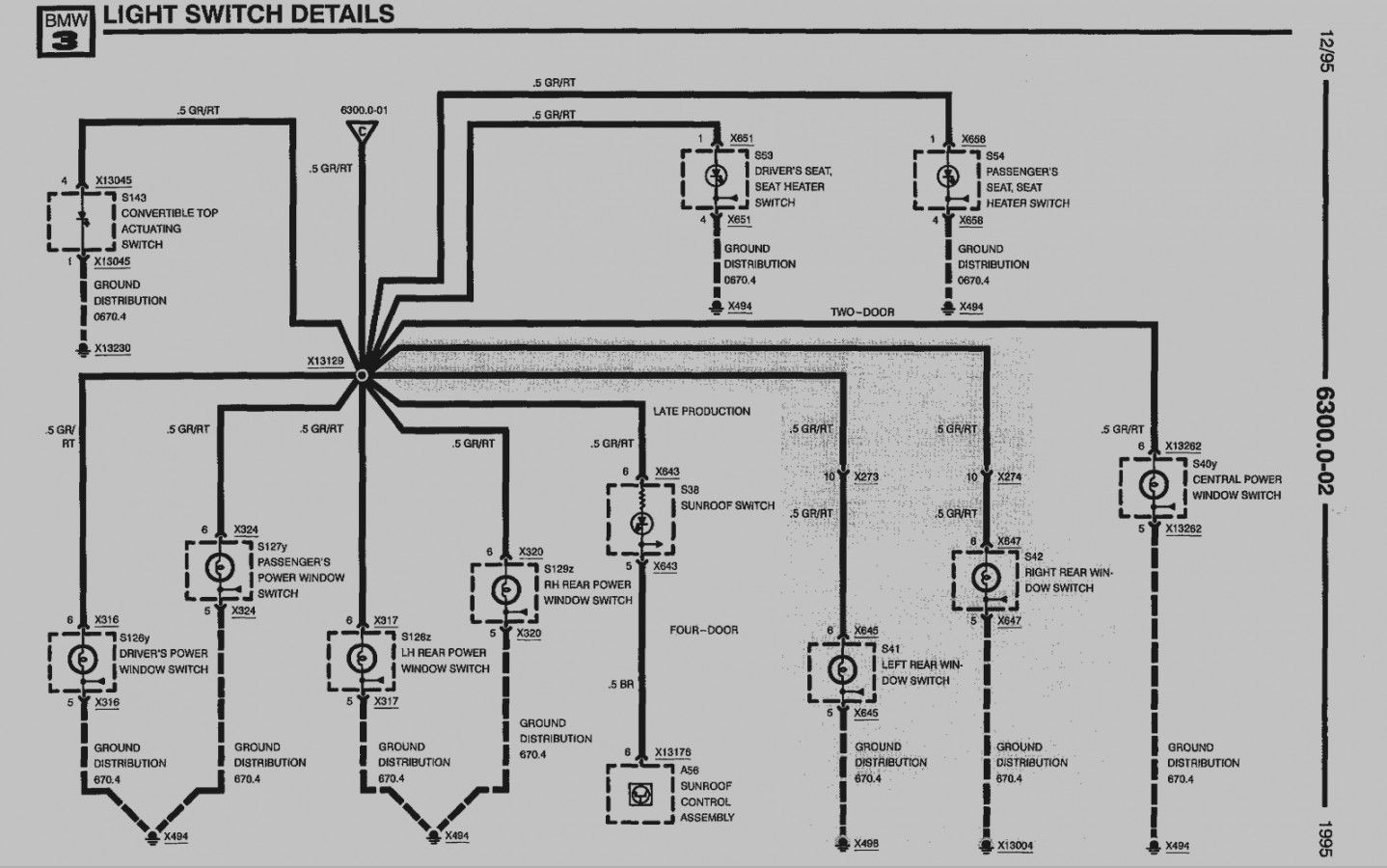 Bmw E36 Headlight Wiring Diagram