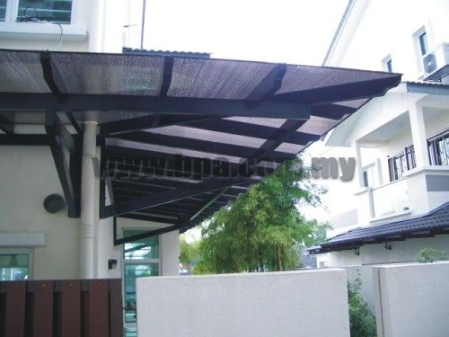 Pergola With Polycarbonate Roof