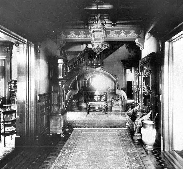 Entrance Hall Chester Wickwire House Cortland New York