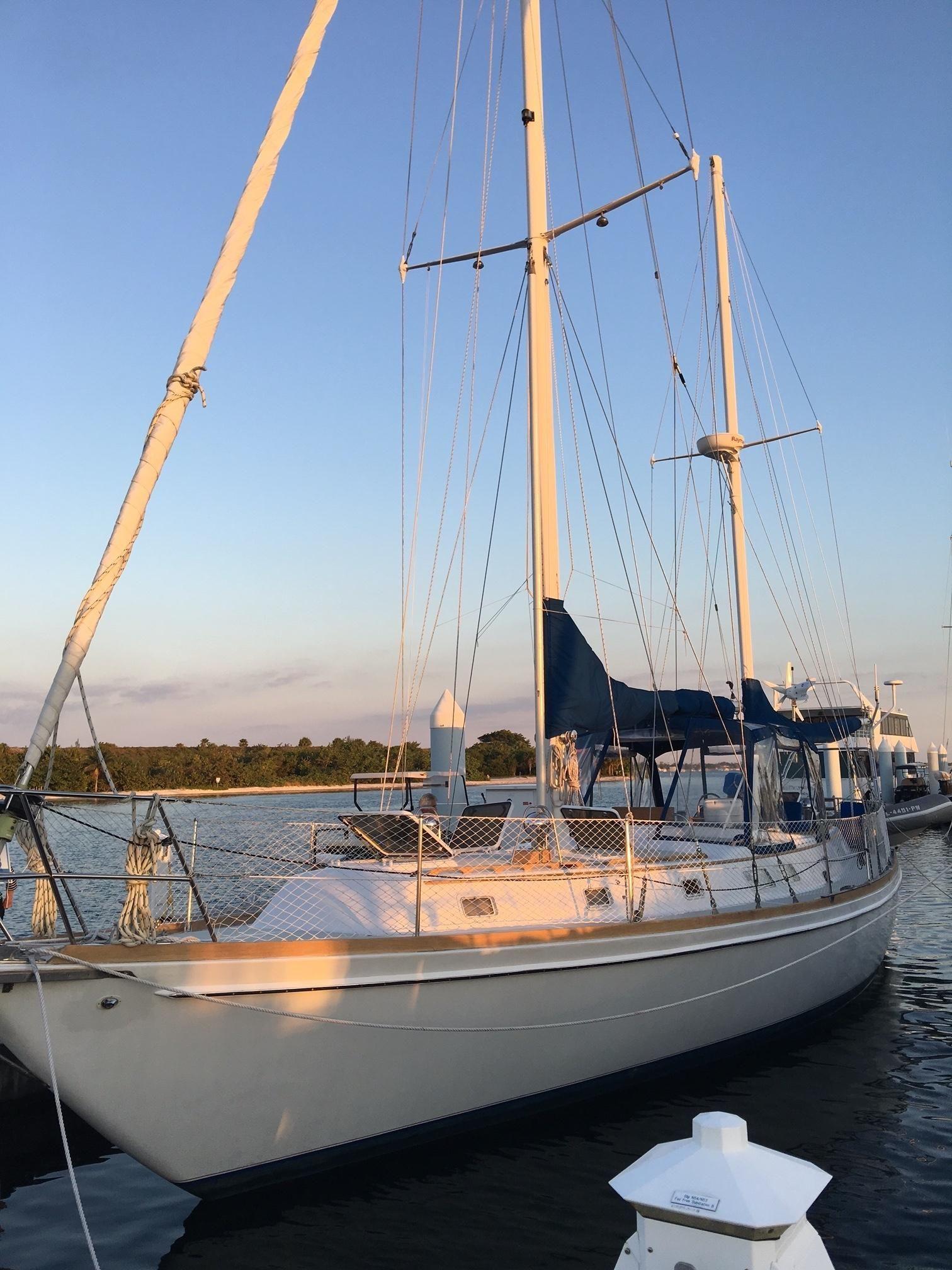 1980 Gulfstar 50 ft Ketch Sail Boat For Sale - www