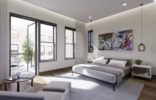 Leonard Street's condos in NYC.