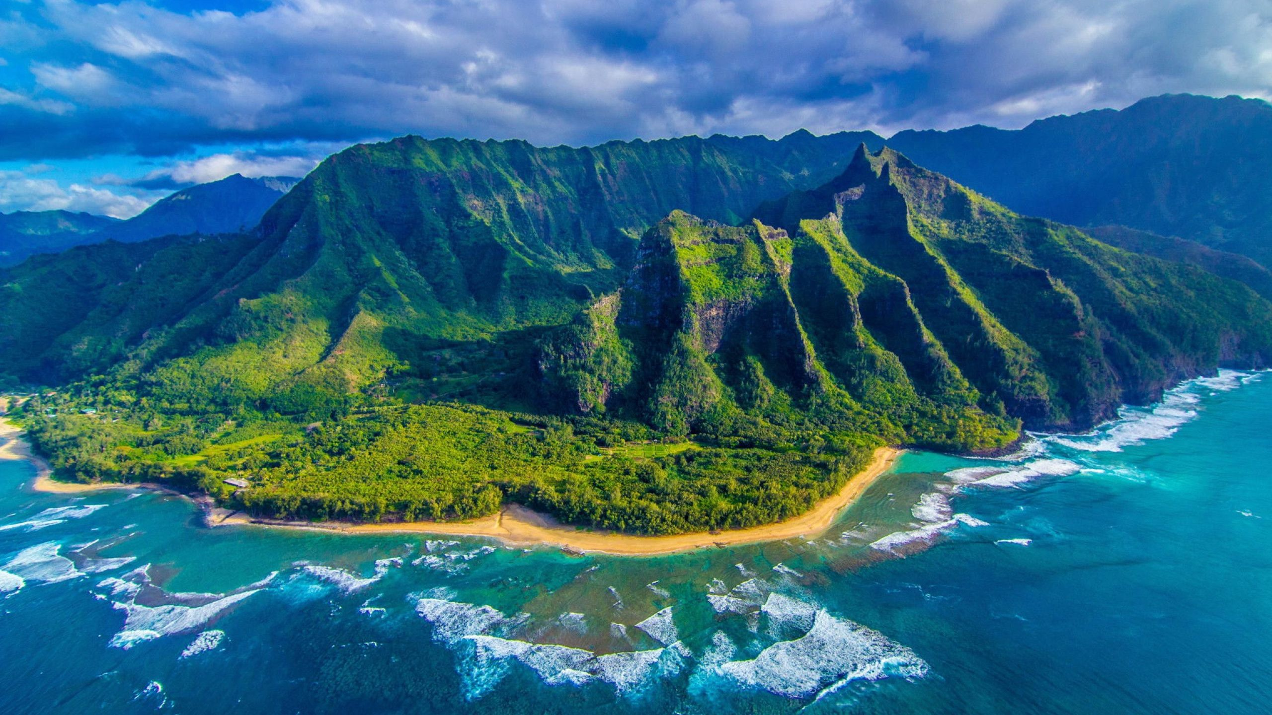 Hawaii Wallpaper Picture For Desktop Wallpaper 2560 x 1440 px 1.08 ...