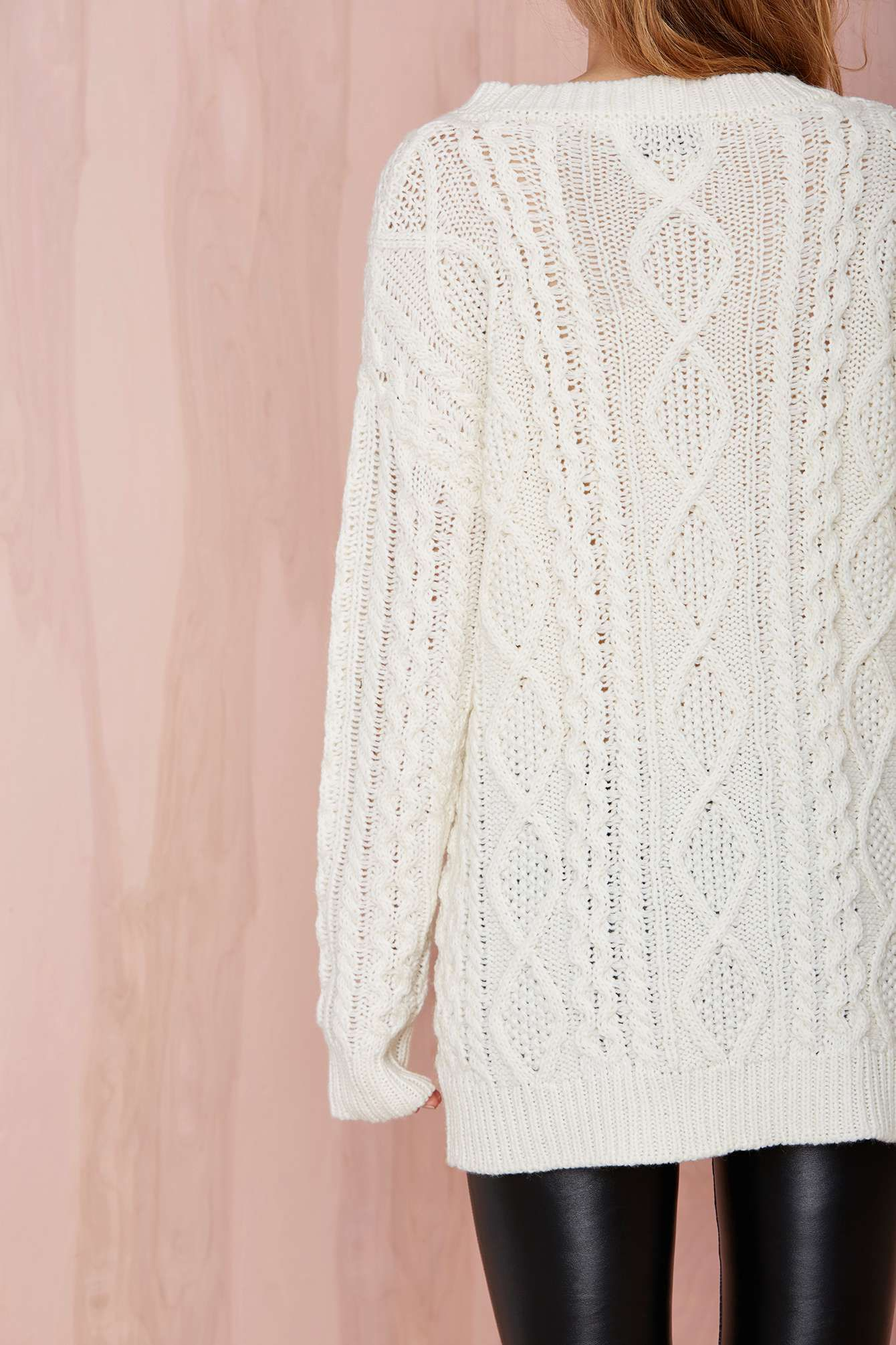 Crochet What's Up Hello Lace Dress | Cable sweater and Cable