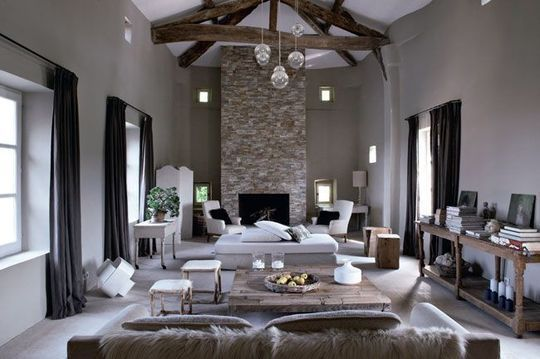 Une Maison Qui Vient Du Sud | Living Rooms, Salons And Room