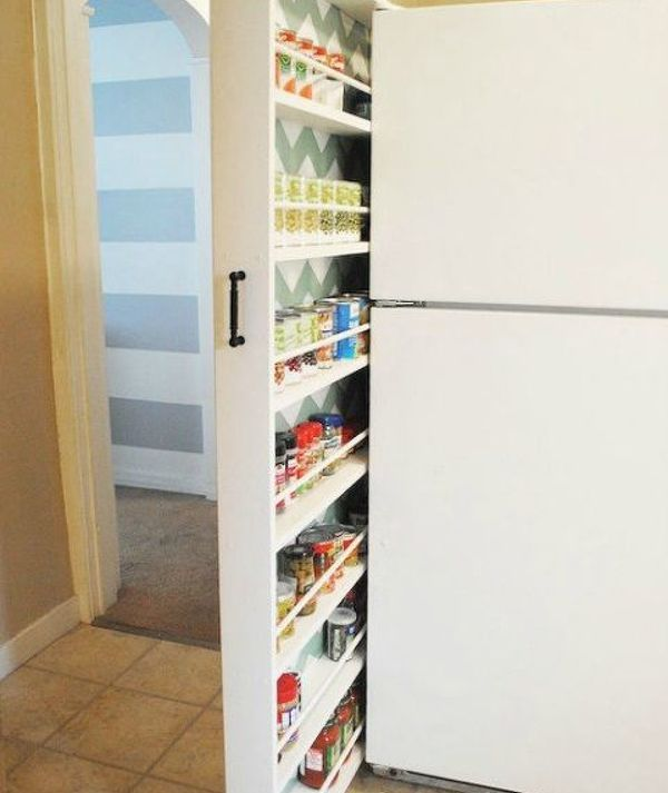 Add More Pantry Space With These Brilliant Hacks Pantry Tiny - How to add a pantry to your kitchen