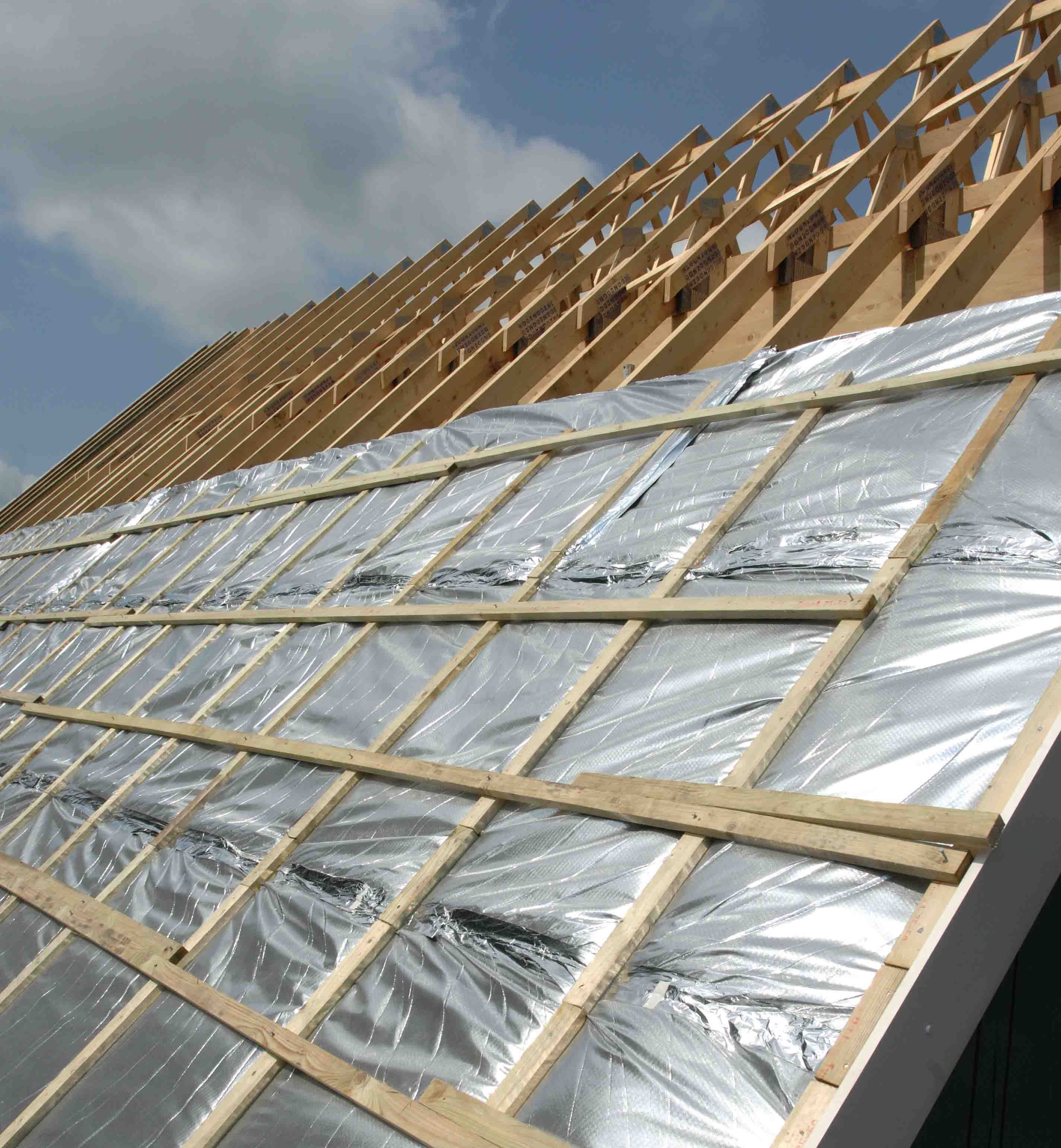 Re Roofing Is Faster And Less Expensive Than A Complete Roof Replacement There S Also Less Labor And Material Involved So Yo Roof Insulation Roof Repair Roof