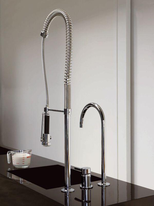 3 hole kitchen mixer tap with spray PAN | 3 hole kitchen mixer tap ...