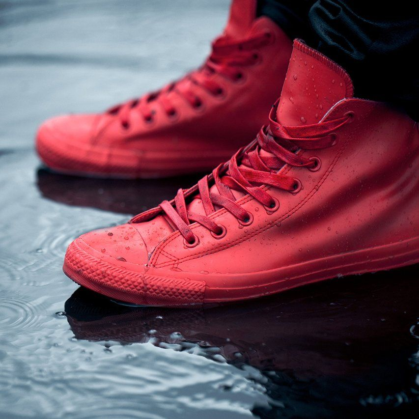 Fancy - Red Converse Chuck Taylor All Star Rubber
