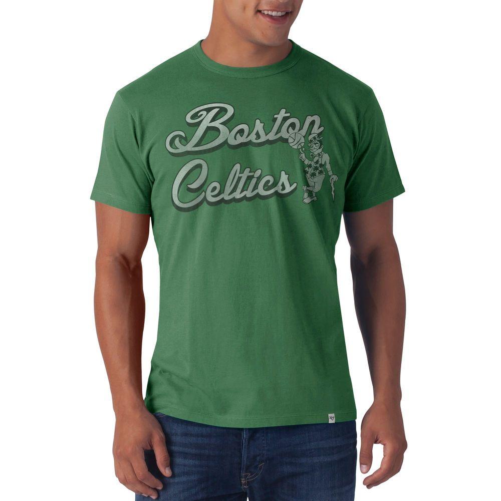 1f005d7085e  47 Brand Boston Celtics Flanker T-Shirt - Kelly Green.