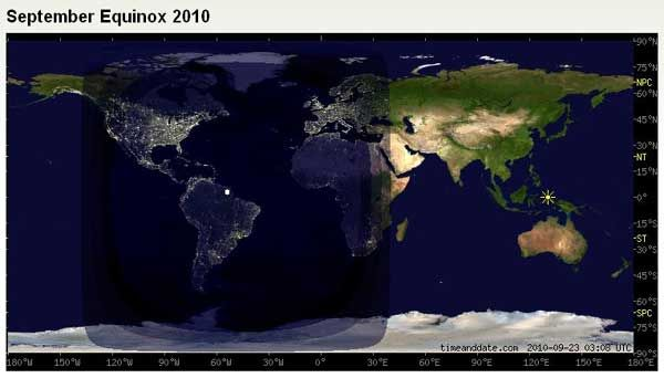 Day night map of the world and the line of the terminator above day night map of the world and the line of the terminator above north america maps pinterest dark side gumiabroncs Gallery
