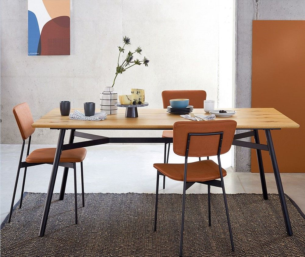 Table A Manger 6 A 8 Couverts Lora Chene Table La Redoute Interieurs Iziva Com Table A Manger Table Salle A Manger Meuble Maison