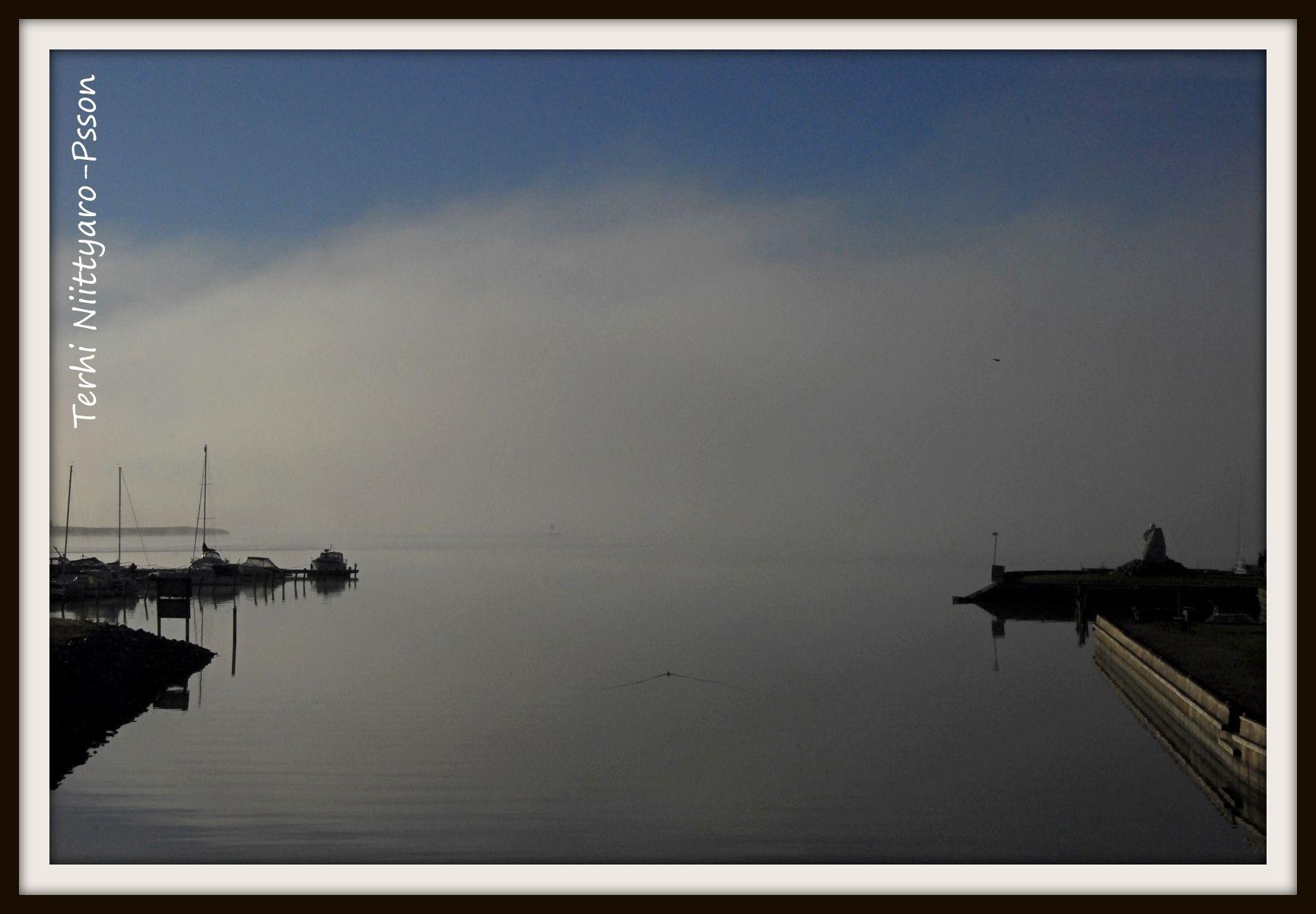Parainen, Suntin aukko. Kuva otettu sumuisena aamuna, lokakuu_2010, kuvaaja Terhi Niittyaro-P.