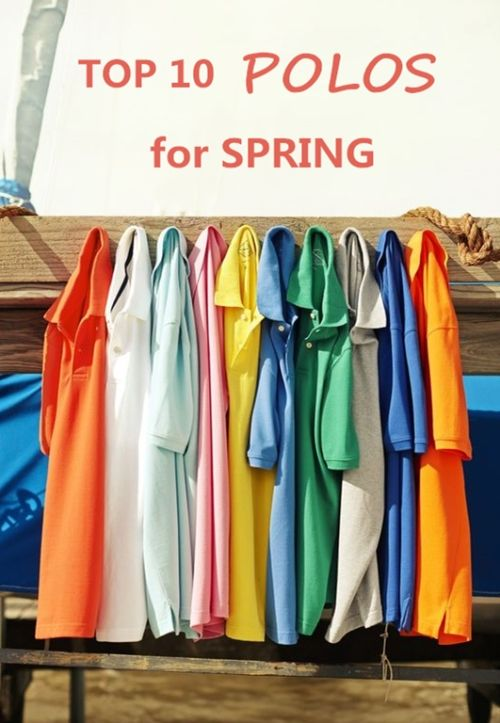 Top 10 Polos for Spring from NYFifth