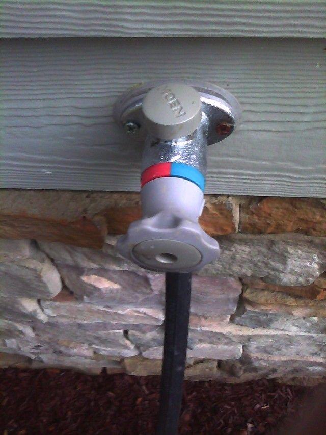 Hot Water Hose Bib Building A Home Forum Gardenweb Water Hose Toilet Paper Holder Building A House