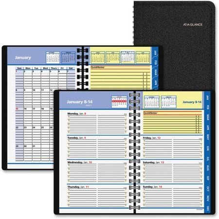 Office Supplies Page layout, Appointments, At a glance