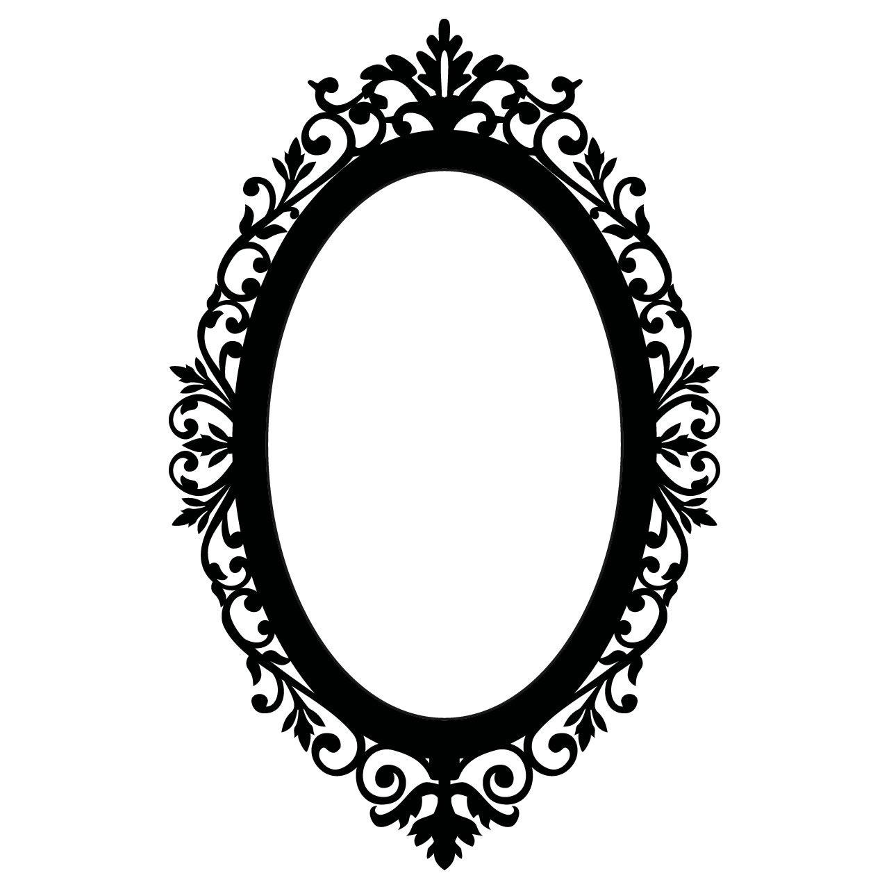 Oval Portrait Frame Template Framejdi