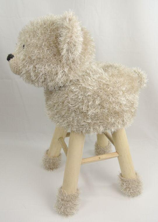 Dieren Kruk Beer Haakpret Amis And Dollies 2 Crochet Animals