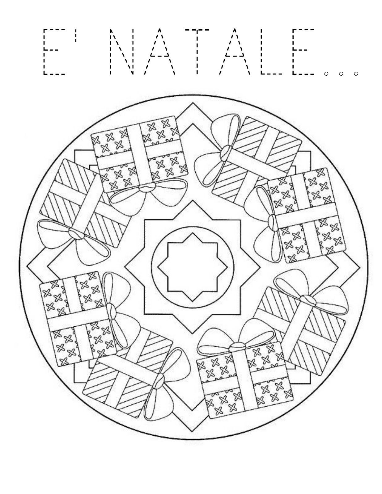 Nikolaus Mandala Ausmalbilder : Blog Scuola Schede Didattiche Scuola Dell Infanzia La Maestra