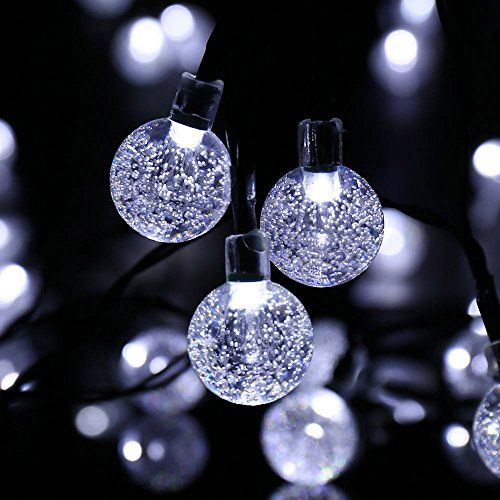 Decorative Ball Lights Simple Ledertek Decorative Christmas Solar Powered Crystal Ball Lights Review