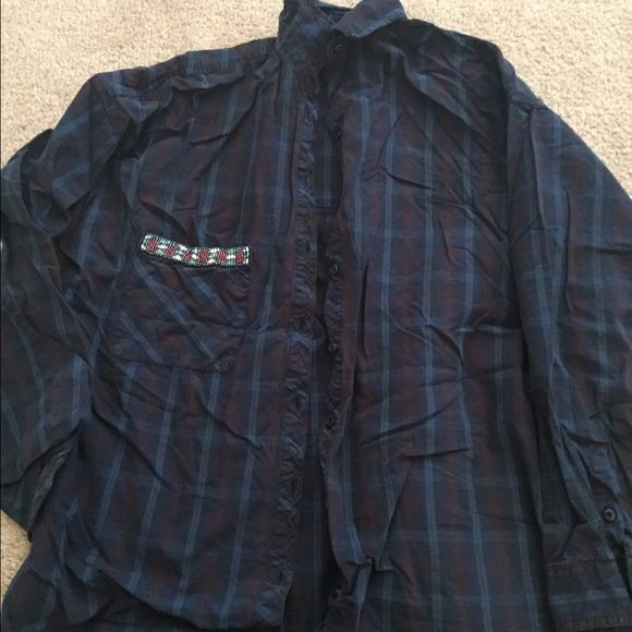 Zara checked shirt In excellent condition. Like New. Zara Tops Button Down Shirts
