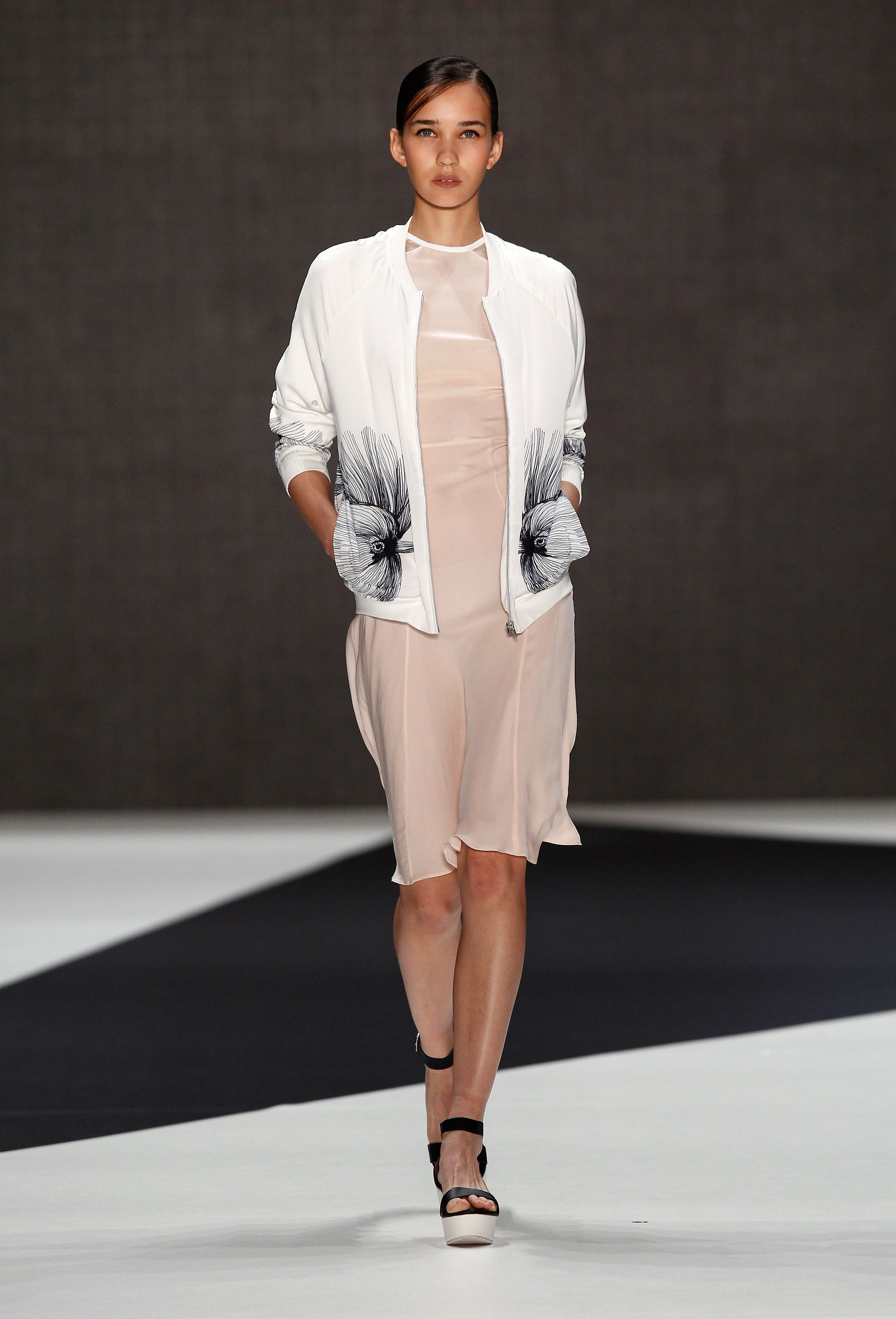 Spring cocktail dresses with jackets