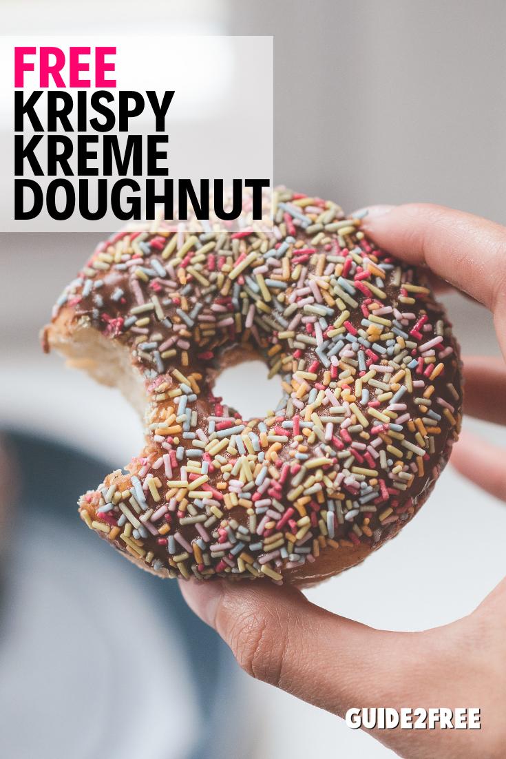 Get A Free Krispy Kreme Doughnut When You Download The Krispy