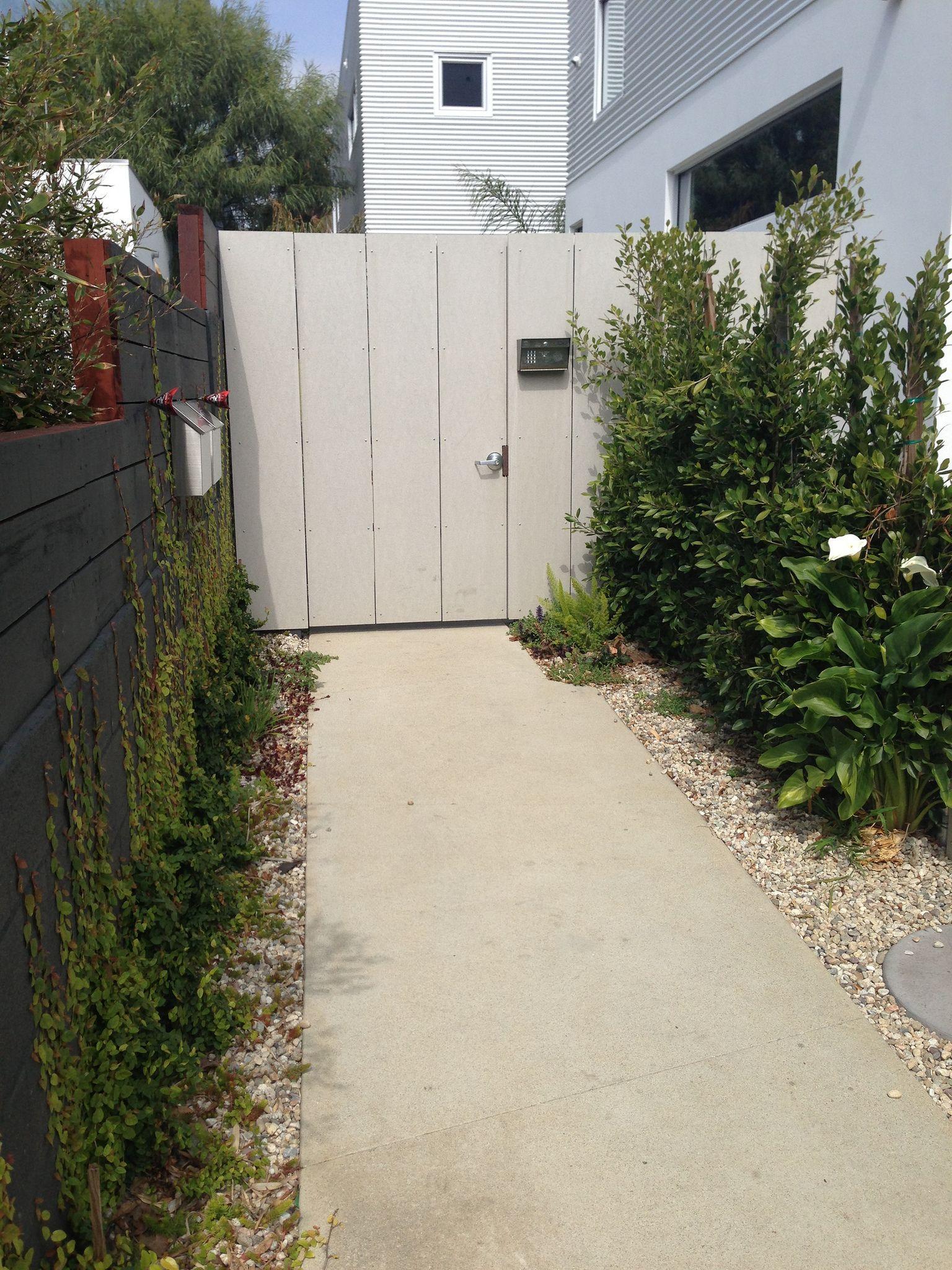 Vernon Venice Fence 2 Grafton House Backyard Landscape Drainage