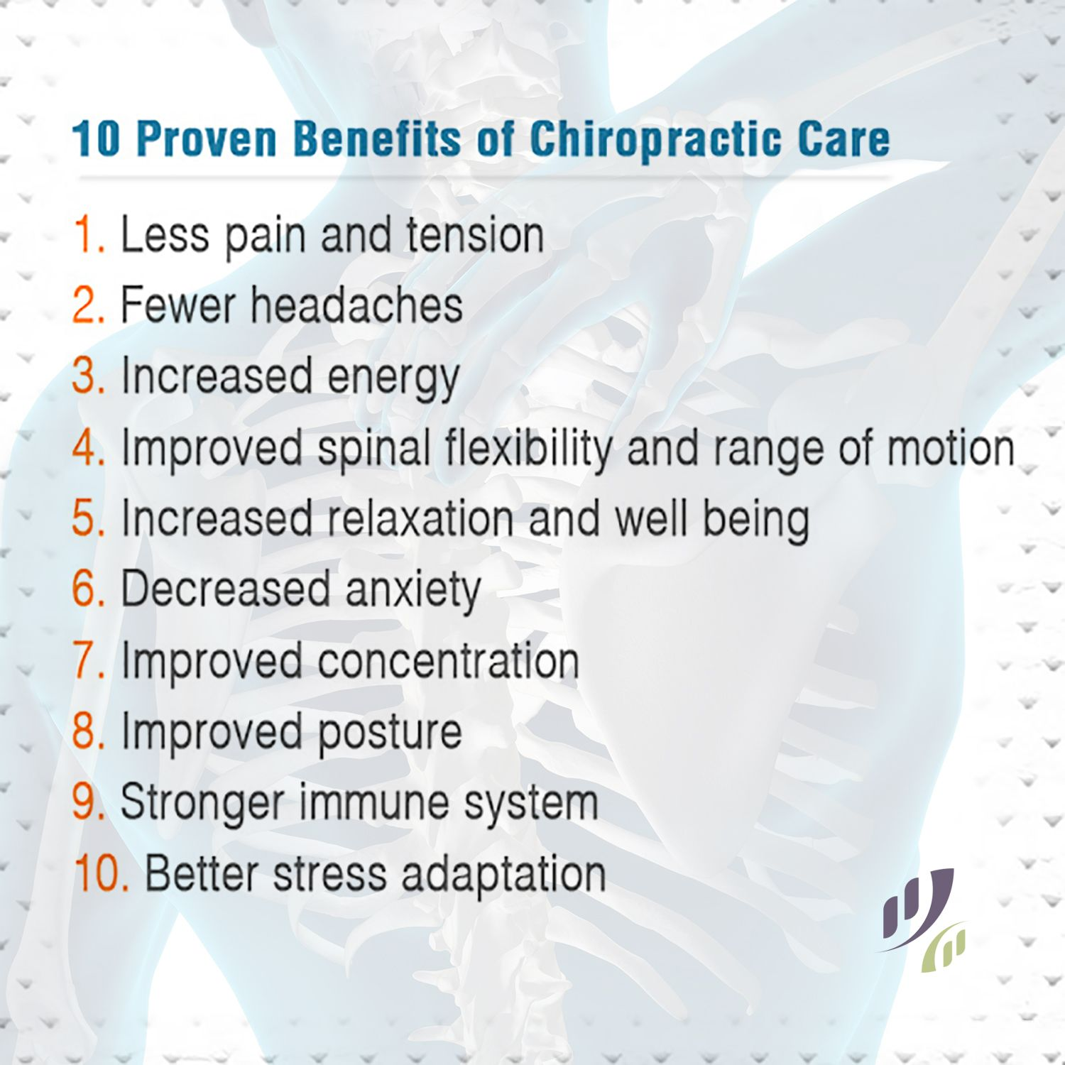 10 Proven Benefits of ChiropracticCare. chiropractic