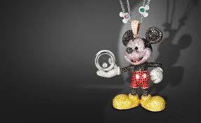 mickey mouse necklace Mickey Minnie friends Pinterest