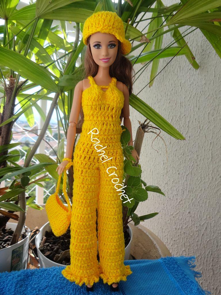 #Doll #Crochet #Barbie #Chapéu #Hat #RaquelGaucha
