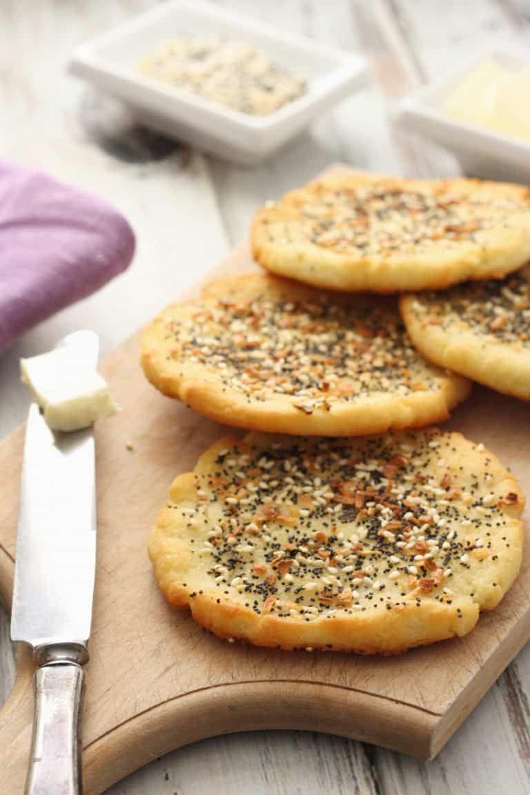Everything Mashed Potato Flatbread #russetpotatorecipes