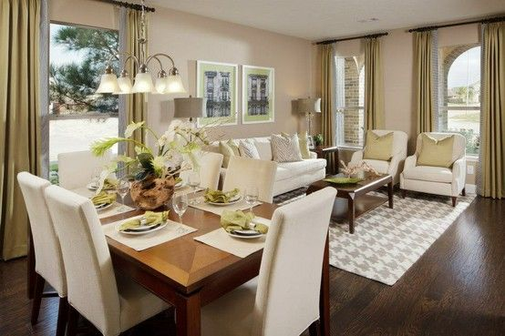 Kitchen Dining Room Combo Small Floor Plans