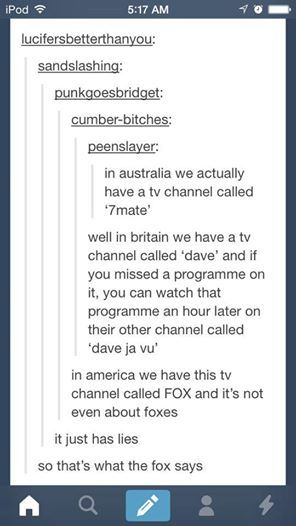 204b63caf65b I m Australian and I just realised a flaw in calling that channel 7mate.  You could say