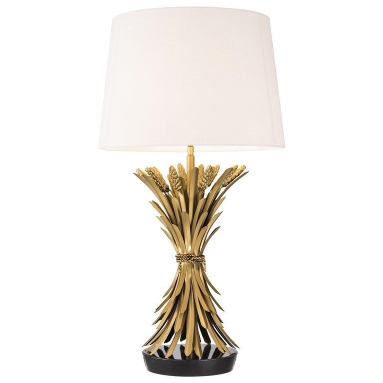 Wheat Sheaf Table Lamp In 2020 Table Lamp Lamp Candle Table