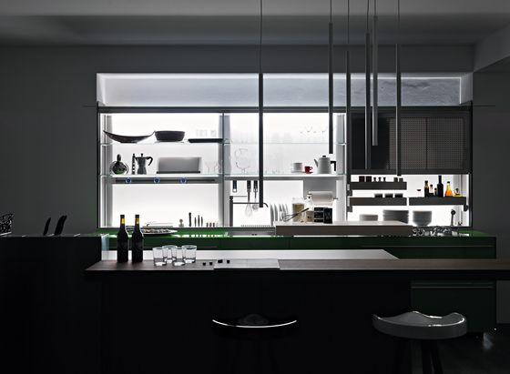 New Logica System Invitrum verde prato   kitchens   Pinterest
