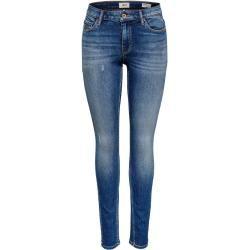 Photo of Only Onlcarmen Reg Skinny Fit Jeans Damen Blau Only