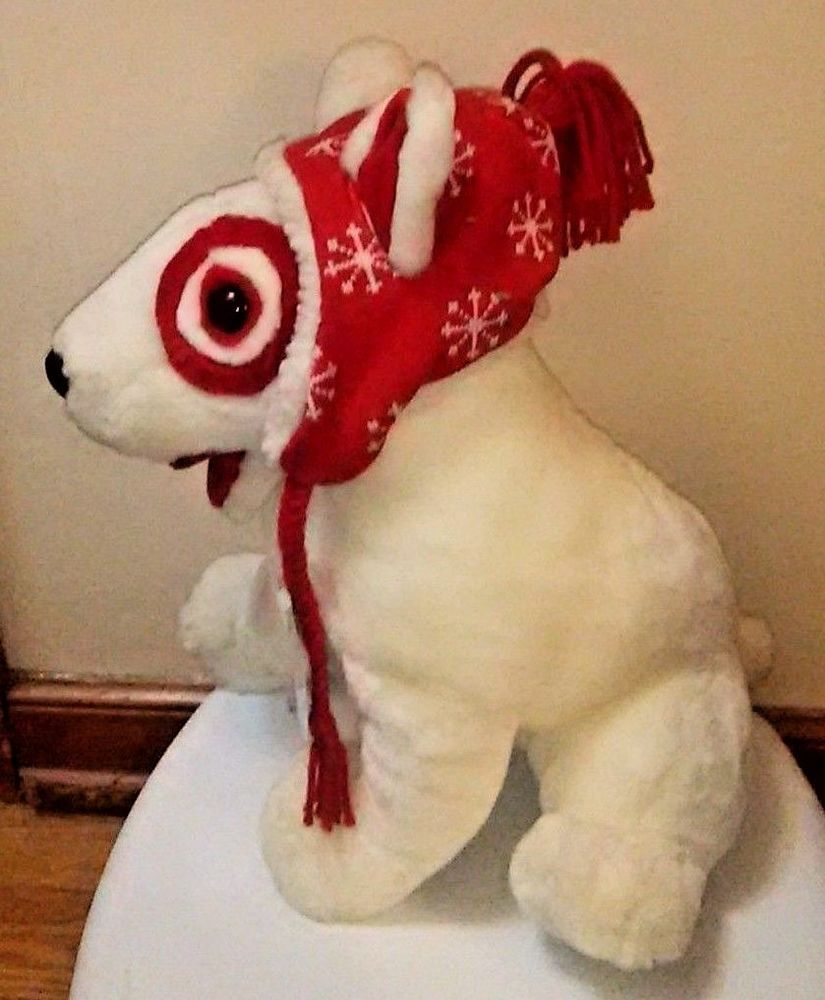 Target Store The Inn Thing Logo Plush Bullseye Dog Nwt