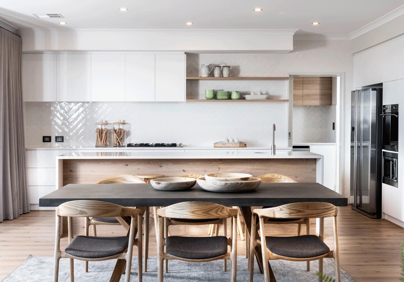 scandinavian-kitchen #scandinavianinteriordesign