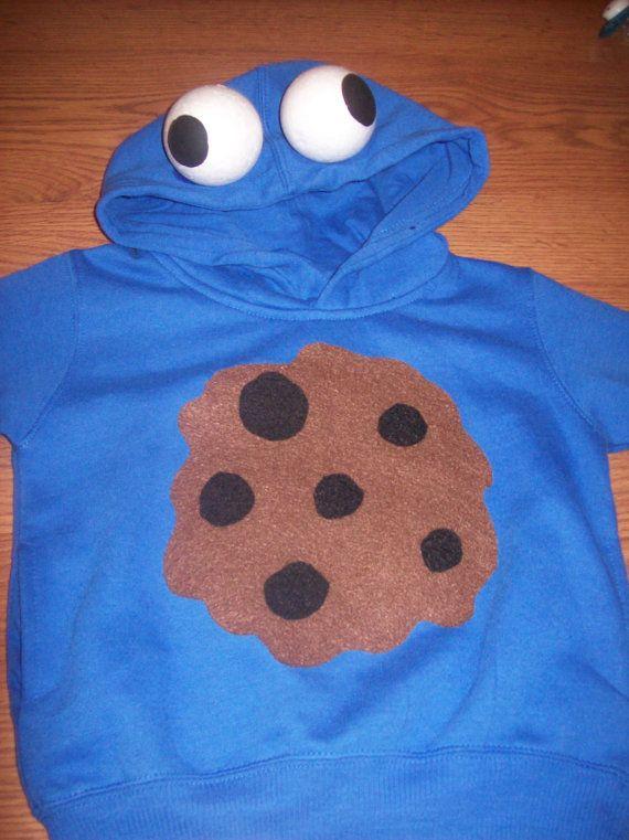 Monster Halloween Cookies: Cookie Monster Sesame Street Halloween Costume By
