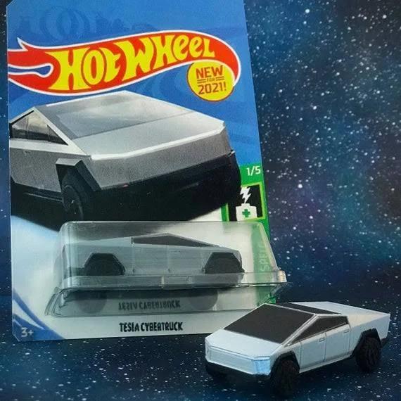 Tesla Cybertruck Plastic Model Version 2 0 Toy Car 1 64 Google Shopping In 2020 Plastic Models Toy Car Tesla