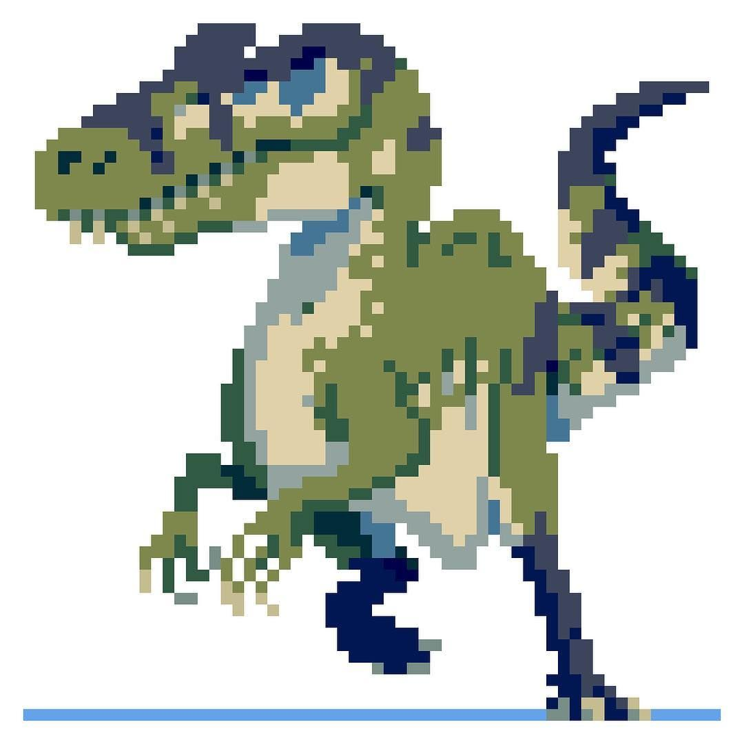Papercraft Gallimimus (Fossils and Archeology Revival Mod)