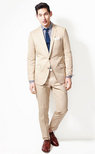 J.Crew Ludlow Shop: perfect for groomsmen at a beach wedding. If you ...