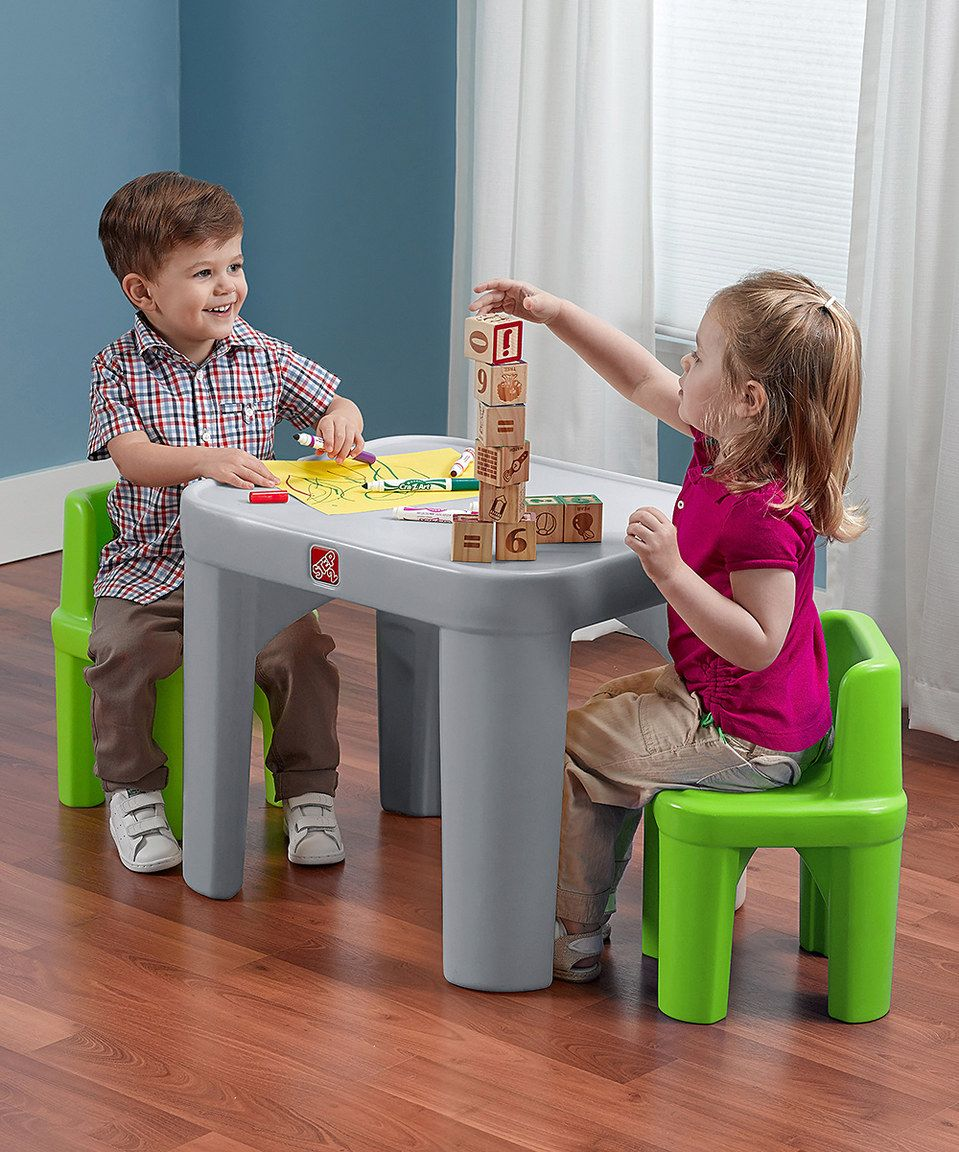 Love This Mighty My Size Table Chair Set By Step2 On Zulily