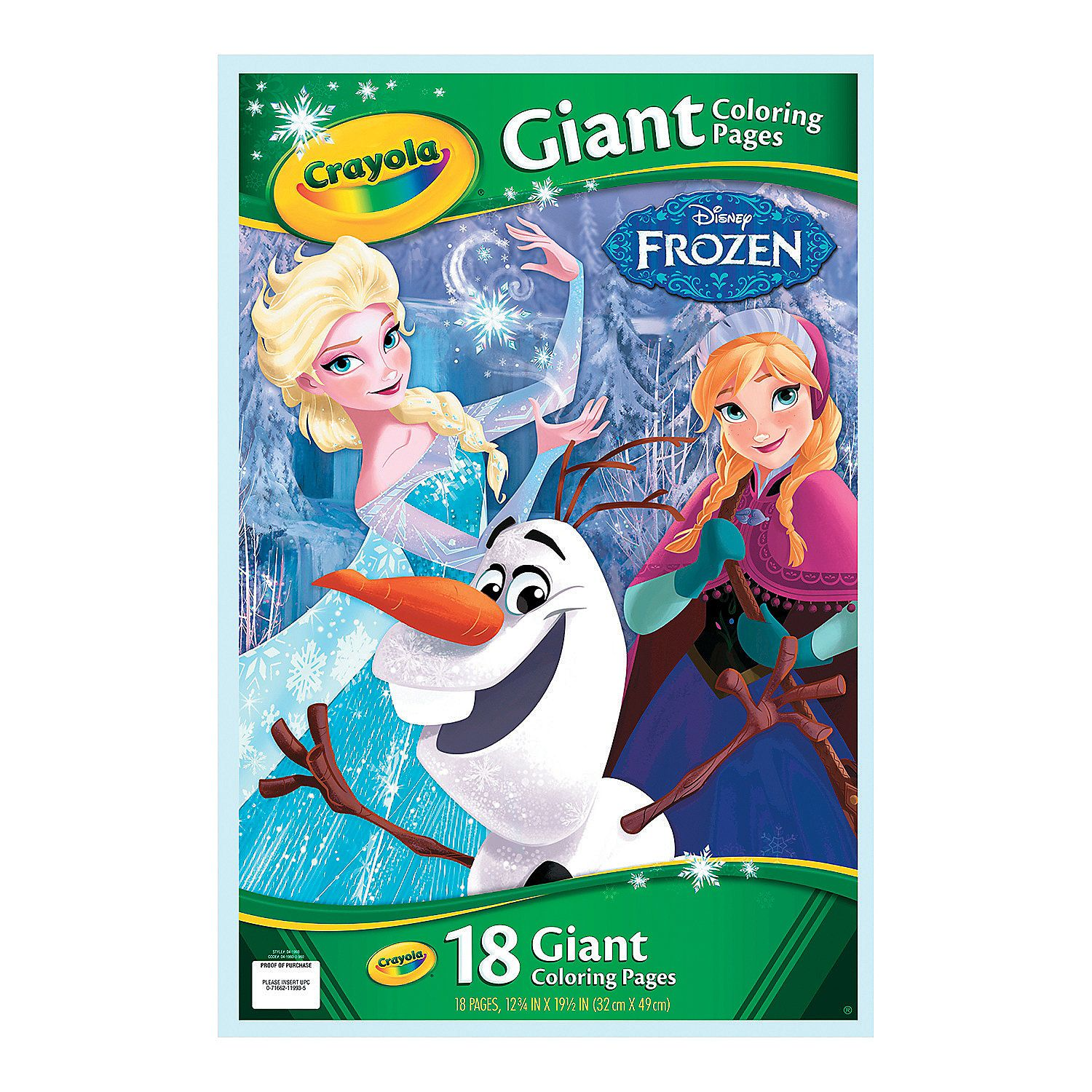 Crayola Disney\'s Frozen Giant Coloring Pages - OrientalTrading.com ...