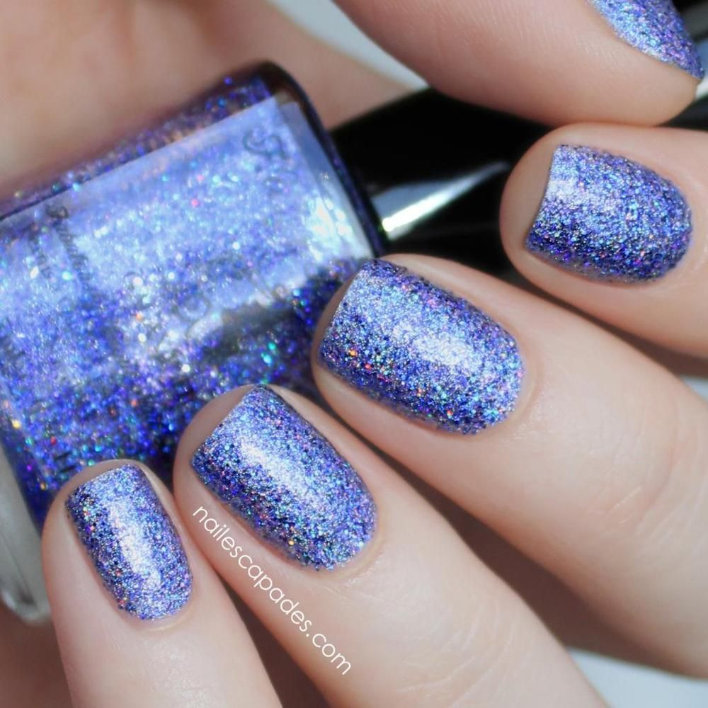 Galaxy (H) - Dark Purple Holo Glitter Topper with Spectraflair ...