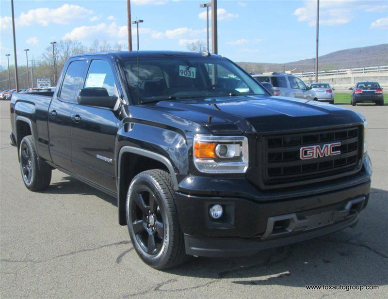 2015 New Gmc Sierra 1500 1500 4wd Double Cab Elevation Edition At